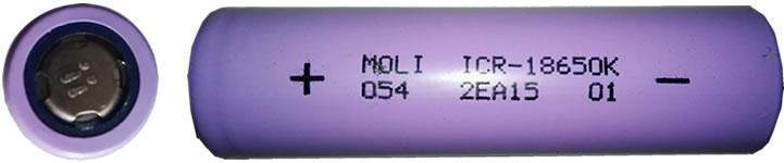 moliicr18650k