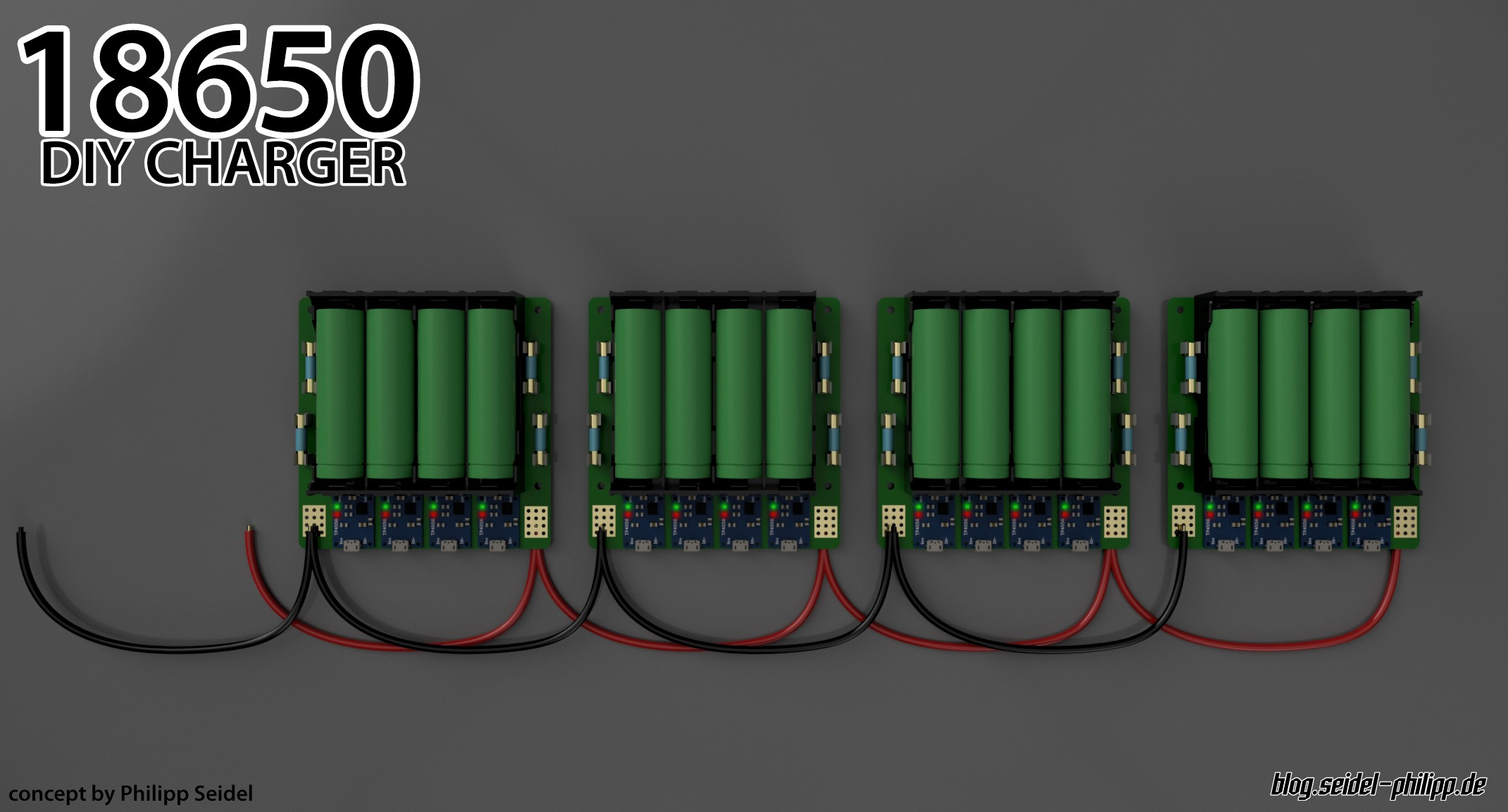 Reverse Protected 18650 Lithium Ion